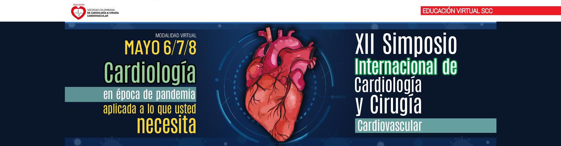 XII Simposio Internacional de la Sociedad Colombiana de Cardiología y Cirugía Cardiovascular - SCC.21